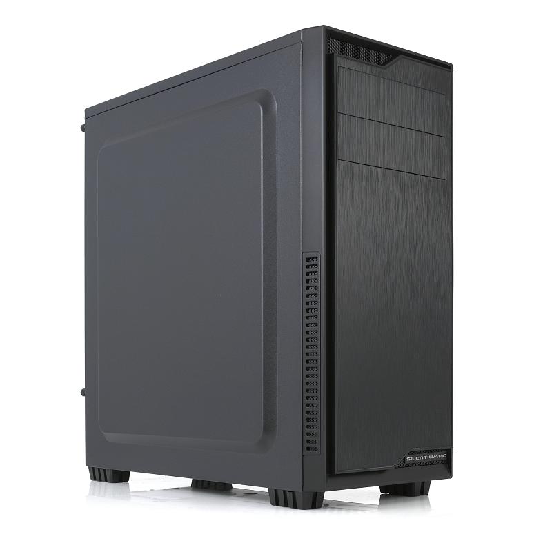 SILENTIUMPC Regnum RG1 Pure Black - Ilman Virtalähdettä - 5904730204361 - 1