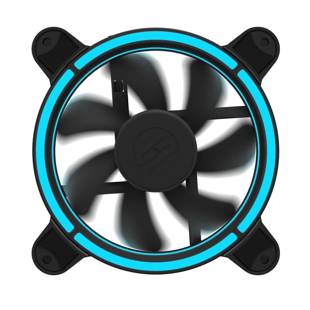 Sigma Pro Corona RGB 120 Kit : SilentiumPC